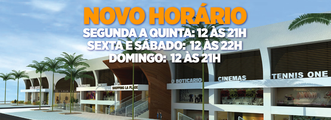 banner-novo-horario-shopping-la-plage-guaruja