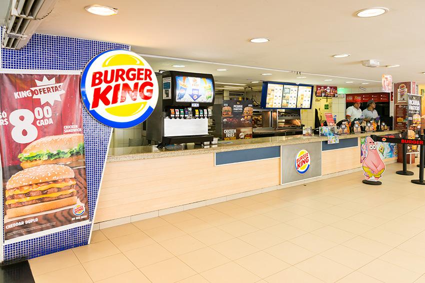 d3b47c4ee3b71 Burger King Guarujá - Shopping La Plage Guarujá