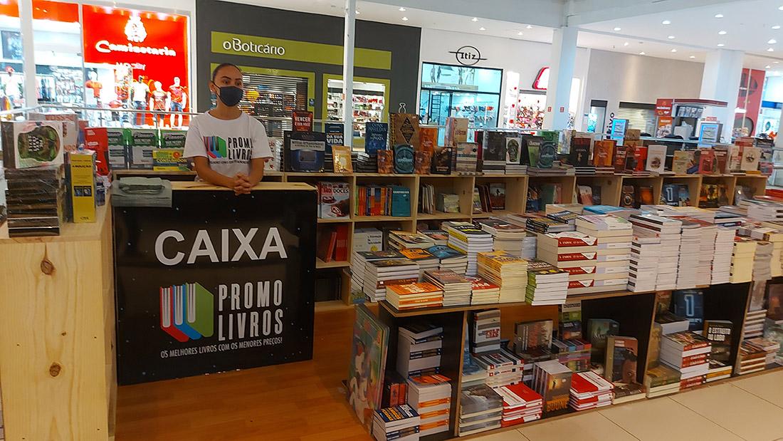 promo livros shopping la plage guaruja